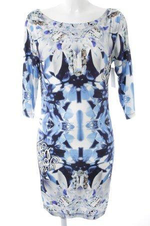 Philipp Plein A-Linien Kleid abstraktes Muster extravaganter Stil