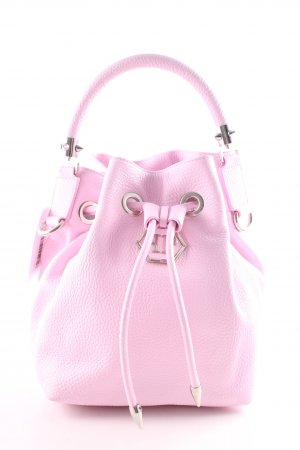 Philipp Plein Pouch Bag pink casual look