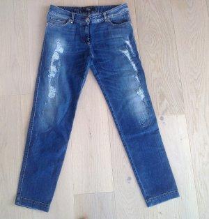 Philipp Plein Jeans boyfriend blu