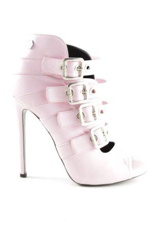 Philipp Plein High Heels pink Business-Look