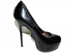 Philipp Plein High Heels black leather