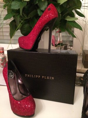 Philipp Plein High Heels red-black