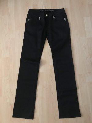 Philipp Plein Hose Jeans Schwarz 28 Lang 102cm TOP ZUSTAND