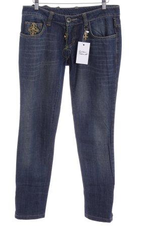Philipp Plein Jeans taille basse multicolore style décontracté