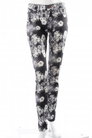Philipp Plein Jeggings Blumenmuster