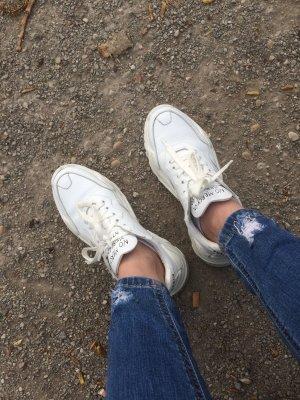 Philipp Plein Lace-Up Sneaker white