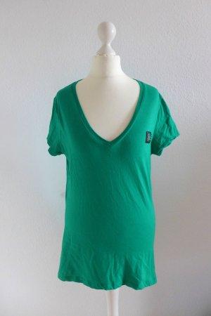 Philipp Plein Shirt Oberteil T-Shirt aufregender Rücken grün Gr 36/38