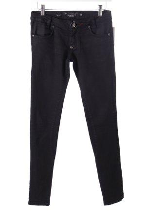 Philipp Plein Skinny Jeans schwarz Dekoelemente