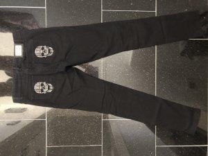 Philipp Plein Skinny Jeans schwarz Gr. 27