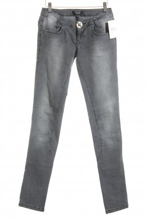 Philipp Plein Slim Jeans grau-hellgrau Casual-Look