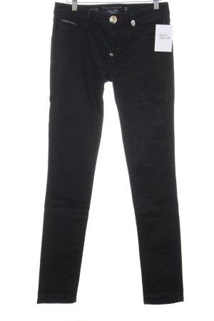 Philipp Plein Slim Jeans schwarz Casual-Look