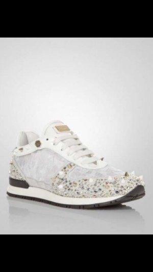 Philipp Plein Sneaker weiß / Gold