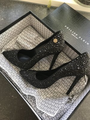 Philipp Plein Pointed Toe Pumps black