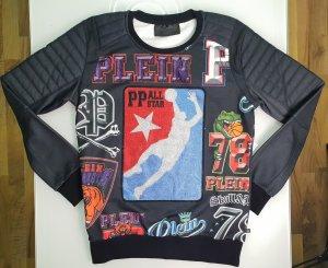Philipp Plein Sweater Sweatshirt LS Line 100% Original
