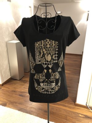 Philipp Plein T-Shirt mit Strass in M