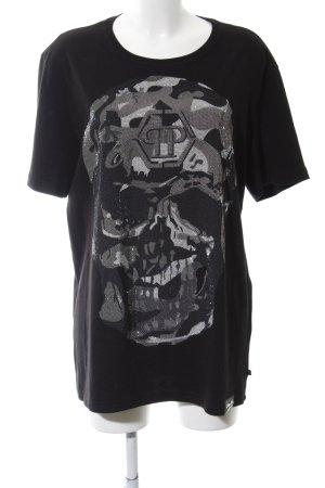 Philipp Plein T-Shirt Motivdruck extravaganter Stil