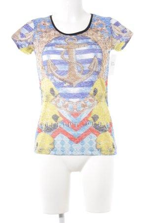 Philipp Plein T-Shirt Mustermix extravaganter Stil