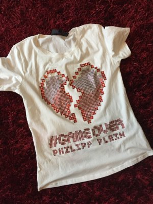 Philipp Plein Tshirt Game Over Größe 40