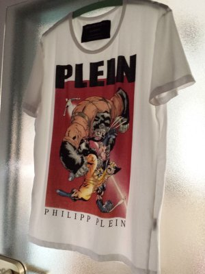 """PHILIPP PLEIN""  Unisex  T-SHIRT XL (Limited Edition)"