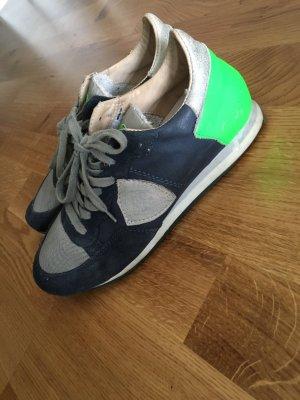 Philippe Model dunkelblau/grün