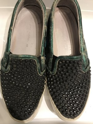 Philippe Model Slipper schwarz Nieten gr 40