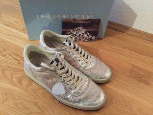 Philippe Model Sneaker 39 Silber metallic