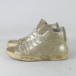 Philippe Model Sneaker Gr. 38 gold Leder