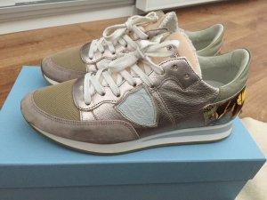 Philippe Model Sneaker Schmetterling rosa Gold weiß Rose Tropez butterfly 38