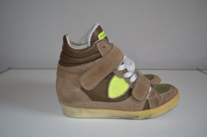 Philippe Model Turnschuhe Gr 38 Leder TOP, NP: 250€