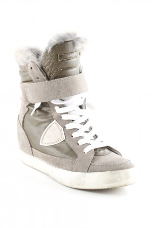 Philippe Model Wedge Sneaker mehrfarbig Casual-Look