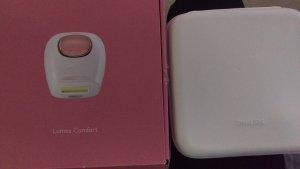 Philips IPL Haarentfernungssystem Lumea Comfort Rosa
