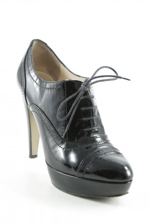 Phillip Hardy Paris High Heels schwarz Lack-Optik