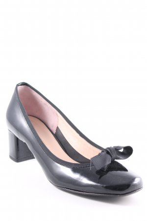 Phillip Hardy Paris Patent Leather Ballerinas black elegant
