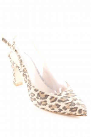 Phillip Hardy Paris Slingback-Pumps Animalmuster Elegant