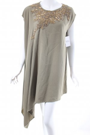 Phillip Lim Shirtkleid khaki-goldfarben Eleganz-Look