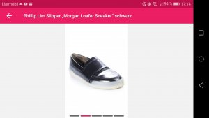 "Phillip Lim Slipper "" Morgan Loafer Sneaker"" schwarz"