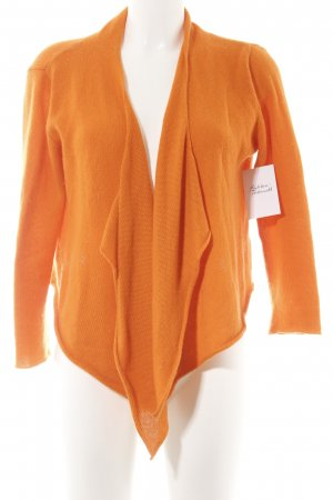 philo-sofie Strickjacke neonorange Casual-Look