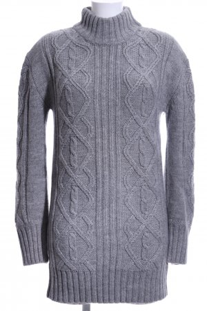 Philosophy Blues Original Long Sweater grey-light grey flecked casual look