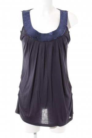 Philosophy Blues Original Tanktop dunkelblau-lila Elegant