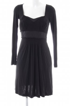 size 40 7bfce 36919 Philosophy Di Alberta Ferretti Longsleeve Dress black elegant
