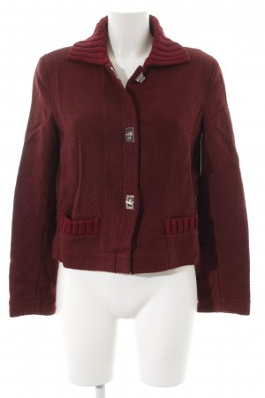 Philosophy Di Alberta Ferretti Strickjacke bordeauxrot Casual-Look