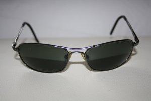 Glasses dark grey-black metal