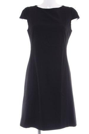 Piazza Sempione A-Linien Kleid schwarz Business-Look