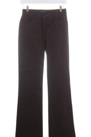 Piazza Sempione Boot Cut Jeans dunkelbraun Casual-Look