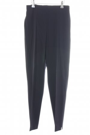 Piazza Sempione Bundfaltenhose blau Business-Look