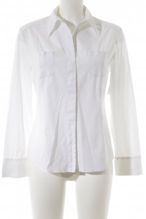 Piazza Sempione Long Sleeve Blouse white business style