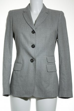 Piazza Sempione Woll-Blazer grau Business-Look