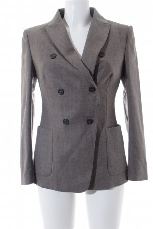 Piazza Sempione Woll-Blazer taupe Business-Look