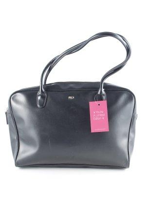 Pic² Handtasche schwarz Business-Look
