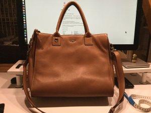 Picard Laptop bag light brown-beige leather